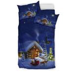 Christmas Night GearWanta3D Customize Bedding Set Duvet Cover SetBedroom Set Bedlinen