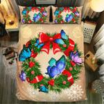 Butterfly Christmas #092113D Customize Bedding Set Duvet Cover SetBedroom Set Bedlinen