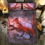 Fox Collection #0908133D Customize Bedding Set Duvet Cover SetBedroom Set Bedlinen
