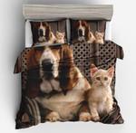 Animal 3D Cat Dog  3D Customized Bedding Sets Duvet Cover Bedlinen Bed set