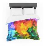 "Claire Day ""Karma"" Rainbow Paint Featherweight3D Customize Bedding Set Duvet Cover SetBedroom Set Bedlinen"