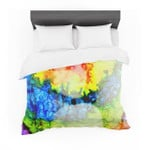 """Claire Day """"Clairefied"""" Rainbow Paint Featherweight3D Customize Bedding Set Duvet Cover SetBedroom Set Bedlinen"""