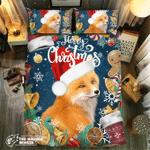 Fox Christmas Collection #09071 3D Customize Bedding Set Duvet Cover SetBedroom Set Bedlinen
