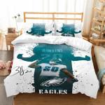 3D Customize Philadelphia Eagles Brian Dawkins et Bedroomet Bed3D Customize Bedding Set/ Duvet Cover Set/  Bedroom Set/ Bedlinen
