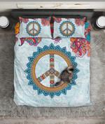 Peace ign Bohemian Mandala PQ 0030 PQ ART HOP 3D Customized Bedding Sets Duvet Cover Bedlinen Bed set
