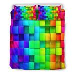 3D Cubes Doona 3D Customize Bedding Set Duvet Cover SetBedroom Set Bedlinen