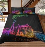 Rainbowummer Beachside Combi Van 3D Customize Bedding Set Duvet Cover SetBedroom Set Bedlinen