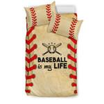 Baseball is my Life  3D Customized Bedding Sets Duvet Cover Bedlinen Bed set