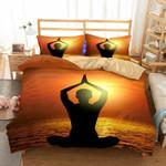 Theme Yoga Zen Print Homeupplieset of 3 Variousizess3D Customize Bedding Set Duvet Cover SetBedroom Set Bedlinen