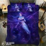 DefaultPurple Mermaids3D Customize Bedding Set Duvet Cover SetBedroom Set Bedlinen