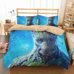 3D Customize Groot  3D Customized Bedding Sets Duvet Cover Bedlinen Bed set