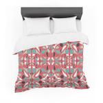 "Miranda Mol ""Stained Glass Pink"" Cotton3D Customize Bedding Set Duvet Cover SetBedroom Set Bedlinen"