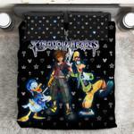 Kingdom Hearts Logo Pattern  3D Customized Bedding Sets Duvet Cover Bedlinen Bed set