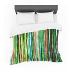 "Frederic LevyHadida ""Fancytripes Green"" Featherweight3D Customize Bedding Set Duvet Cover SetBedroom Set Bedlinen"