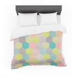 "Louise Machado ""Pastel Hexagon"" Geometric Featherweight3D Customize Bedding Set Duvet Cover SetBedroom Set Bedlinen"