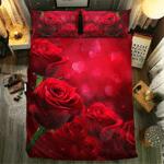Rose Collection #09176 3D Customize Bedding Set Duvet Cover SetBedroom Set Bedlinen