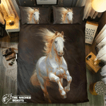 Silver Horse #09125 3D Customize Bedding Set Duvet Cover SetBedroom Set Bedlinen