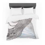 "Louise ""Breeze"" Gray Blue Featherweight3D Customize Bedding Set Duvet Cover SetBedroom Set Bedlinen"