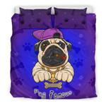 Pug Famous 3D Customize Bedding Set Duvet Cover SetBedroom Set Bedlinen