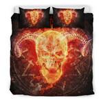 Baphometkull 3D Customize Bedding Set Duvet Cover SetBedroom Set Bedlinen