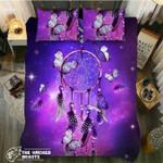 DefaultGalaxy Purple Dreamcatcher Butterflys3D Customize Bedding Set Duvet Cover SetBedroom Set Bedlinen