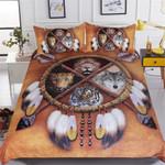 Wolf, Lion, Leopard, Tiger American Indiantyle 3D Customize Bedding Set Duvet Cover SetBedroom Set Bedlinen
