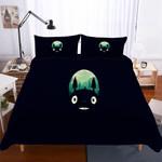 3 Pieceet Totoro Pattern Theme Digital PrintingBlacks3D Customize Bedding Set Duvet Cover SetBedroom Set Bedlinen
