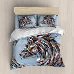 Colorful Horse 2  3D Customized Bedding Sets Duvet Cover Bedlinen Bed set