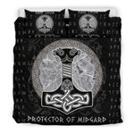 Hail Thor Protector of Midgard 3D Customize Bedding Set Duvet Cover SetBedroom Set Bedlinen