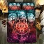Ravening Wolf And Lion #091743D Customize Bedding Set Duvet Cover SetBedroom Set Bedlinen