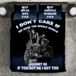 """""""I Don't Care If We Have The Whole World Against Us"""" V1 3D Customize Bedding Set Duvet Cover SetBedroom Set Bedlinen"""