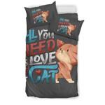 Need A Cat 3D Customize Bedding Set Duvet Cover SetBedroom Set Bedlinen