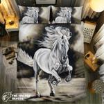 Pure White Horse 0915023D Customize Bedding Set Duvet Cover SetBedroom Set Bedlinen