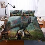 3D Lost World Jurassic Park Dinosaur Pattern3 Pieces In Variousizess3D Customize Bedding Set Duvet Cover SetBedroom Set Bedlinen