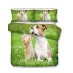 3D Design Animals Dogs Cats Pattern Queen KingizeDog Duvet Cover Pillow Coverl 3D Customize Bedding Set Duvet Cover SetBedroom Set Bedlinen