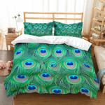 3D Customize Peacock Feathers et Bedroomet Bed3D Customize Bedding Set Duvet Cover SetBedroom Set Bedlinen