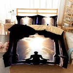 Theme Digital Printing Yoga Zen Household Goods3D Customize Bedding Set Duvet Cover SetBedroom Set Bedlinen