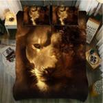 DefaultLion Evaporate 3D Customize Bedding Set Duvet Cover SetBedroom Set Bedlinen