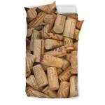 Wine Corks 3D Customize Bedding Set Duvet Cover SetBedroom Set Bedlinen