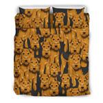 Airedale Terrier  3D Customized Bedding Sets Duvet Cover Bedlinen Bed set