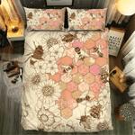 Bee Collection #091013D Customize Bedding Set Duvet Cover SetBedroom Set Bedlinen