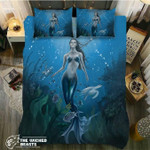 DefaultMermaid Ascensions3D Customize Bedding Set Duvet Cover SetBedroom Set Bedlinen