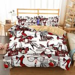 3D Art Pattern Highheeledhoes Printed Coveret comforterBedrooms3D Customize Bedding Set Duvet Cover SetBedroom Set Bedlinen