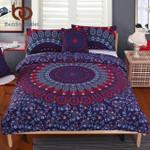 5pcs Bed in a Bag Floral  Queenize Mandala Pattern  Boho Luxury et 2015 Hot3D Customize Bedding Set/ Duvet Cover Set/  Bedroom Set/ Bedlinen