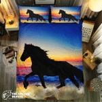 Horseilhouette #09195 3D Customize Bedding Set Duvet Cover SetBedroom Set Bedlinen