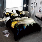 Animal World Flower Eagle 3d PrintOversized Design Bed Cover3D Customize Bedding Set Duvet Cover SetBedroom Set Bedlinen