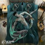 Default hark God3D Customize Bedding Set Duvet Cover SetBedroom Set Bedlinen