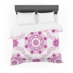"Annelineophia ""Let's Dance Fuschia"" Pink Floral Featherweight3D Customize Bedding Set Duvet Cover SetBedroom Set Bedlinen"