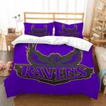 3D Customize Baltimore Ravens et Bedroomet Bed3D Customize Bedding Set Duvet Cover SetBedroom Set Bedlinen