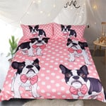 My Cute FrenchieNew 3D Customize Bedding Set Duvet Cover SetBedroom Set Bedlinen